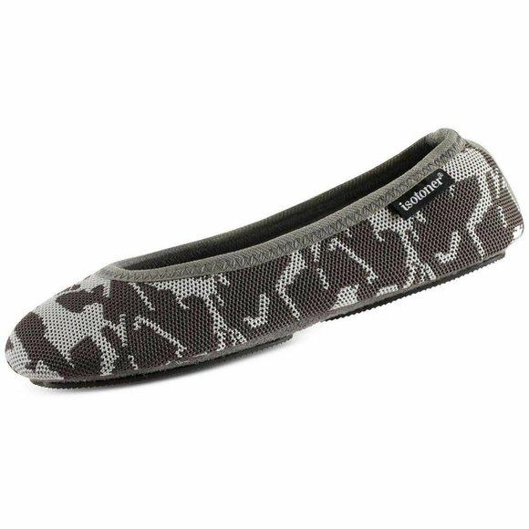 Isotoner Signature Women's Knit Ballerina Slippers